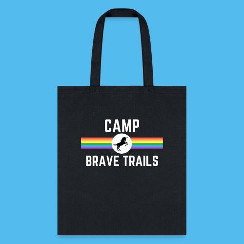 Brave Trails Triangle Rainbow Flag - Tote Bag