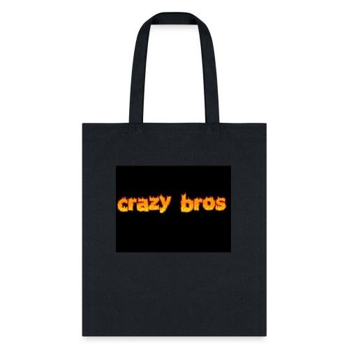 Crazy Bros logo - Tote Bag