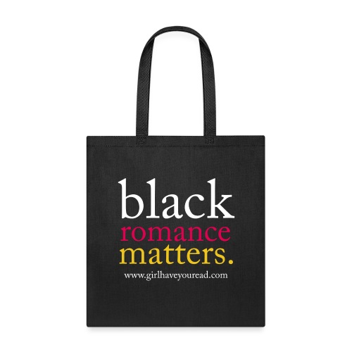 Classic Black Romance - Tote Bag