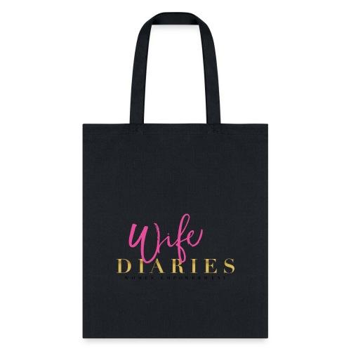 wife diaries logo 2 1 png - Tote Bag