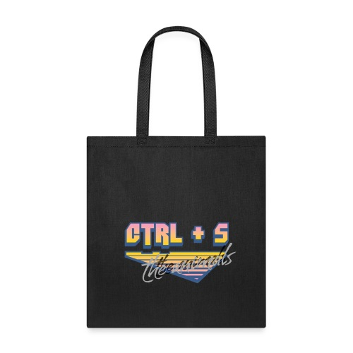 CTRL S The Animals 80s Gradient Brush - Tote Bag