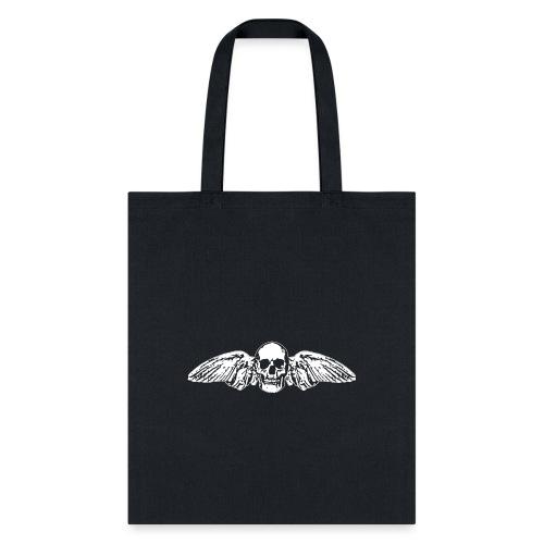 Skull + Wings - Tote Bag
