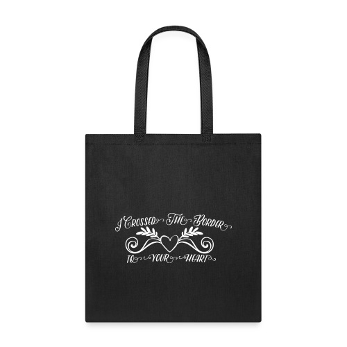 white - Tote Bag