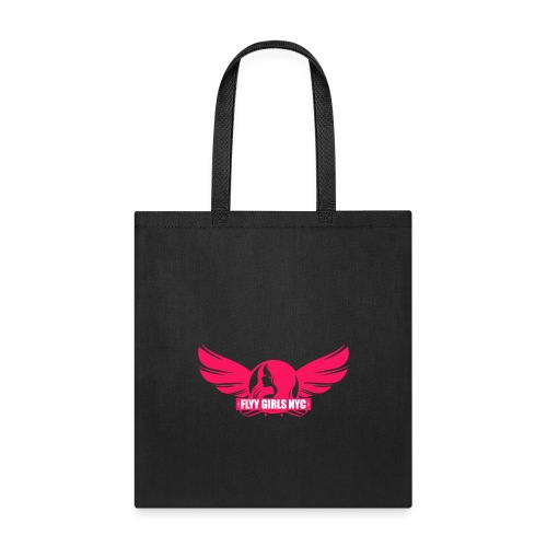 logofinalsolidpinklight png - Tote Bag