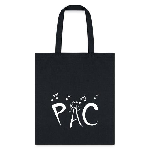 PAC Logo White - Tote Bag
