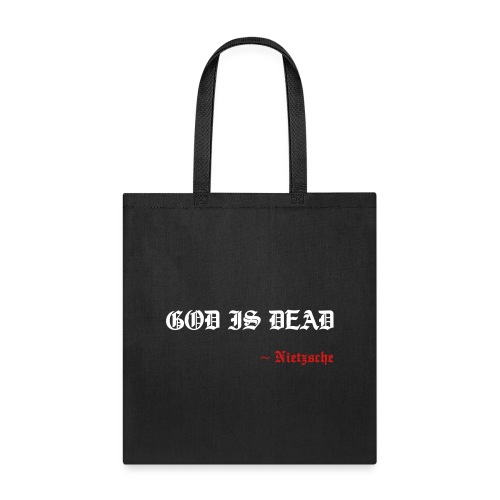 God Is Dead - Tote Bag