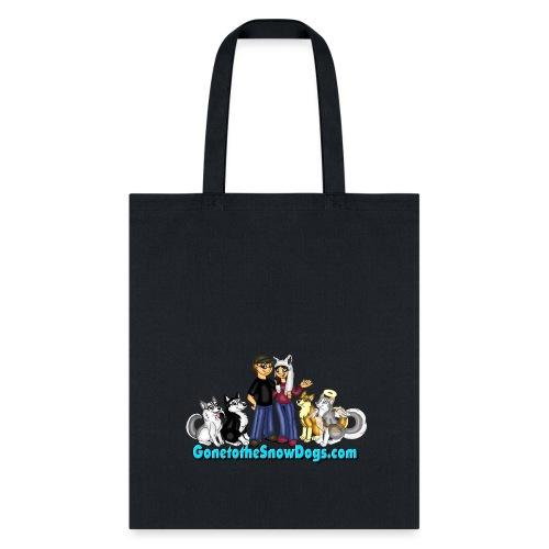 Snow Dogs Vlogs Logo - Tote Bag
