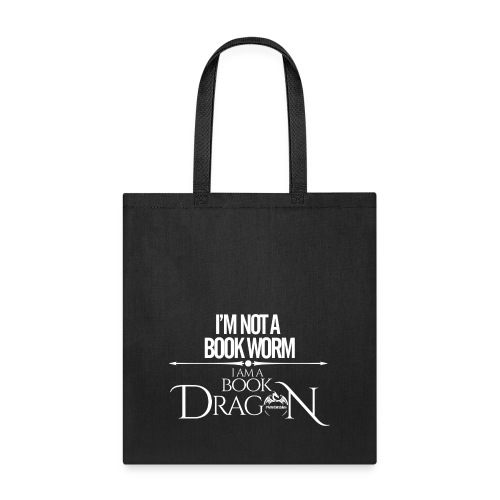 White Book Dragon - Tote Bag