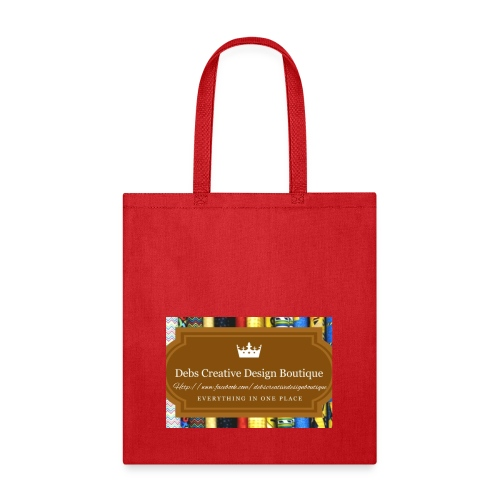 Debs Creative Design Boutique with site - Tote Bag