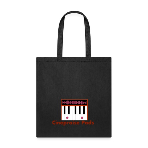 Cinepraise Pads Orange Black - Tote Bag