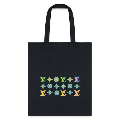 custom coloured LV pattern. - Tote Bag