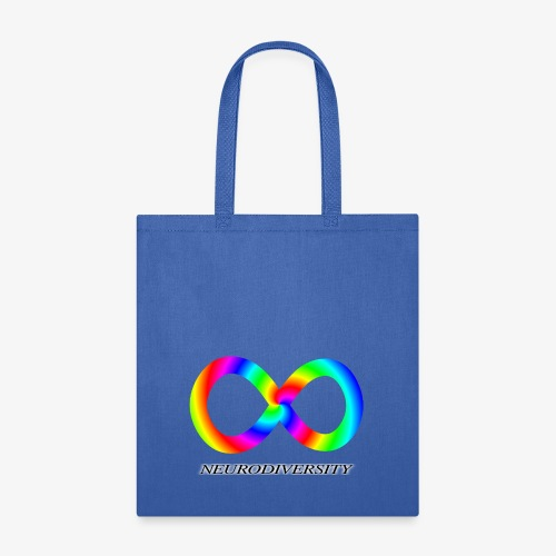 Neurodiversity with Rainbow swirl - Tote Bag