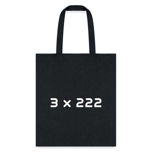 3 x 222 - Tote Bag