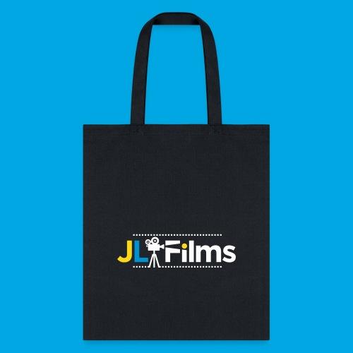 JL Films Logo White - Tote Bag