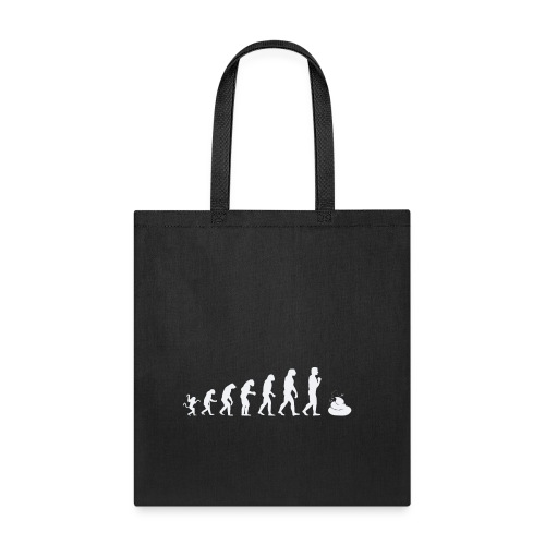 Evolution of man - shit - Tote Bag