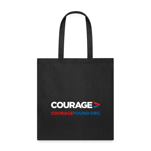courage couragefound.org - Tote Bag