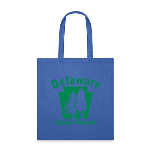 Delaware State Forest Keystone (w/trees) - Tote Bag