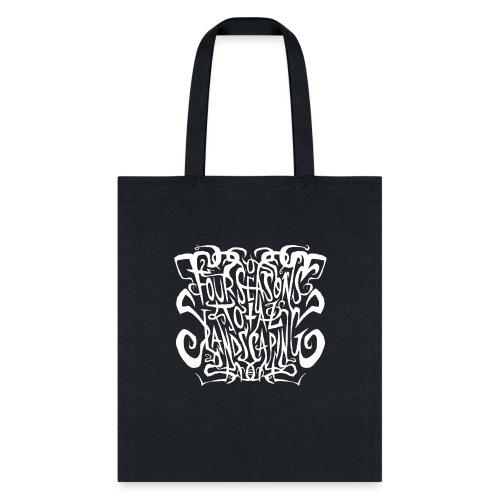 Four Seasons Total Landscaping Black Metal - Tote Bag