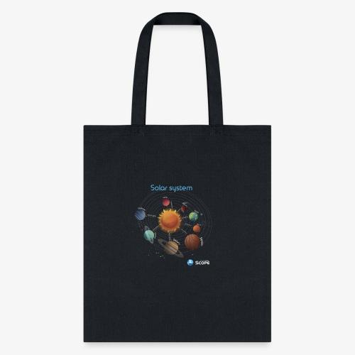 Solar System Scope : Solar System - Tote Bag