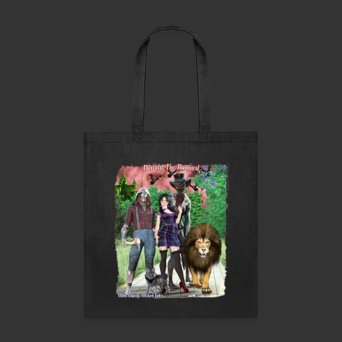 Ghastly Wicked Tales Vampire Dorothy The Damned - Tote Bag