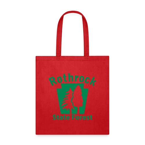 Rothrock State Forest Keystone (w/trees) - Tote Bag