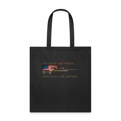 God Bless Our Snipers - Tote Bag