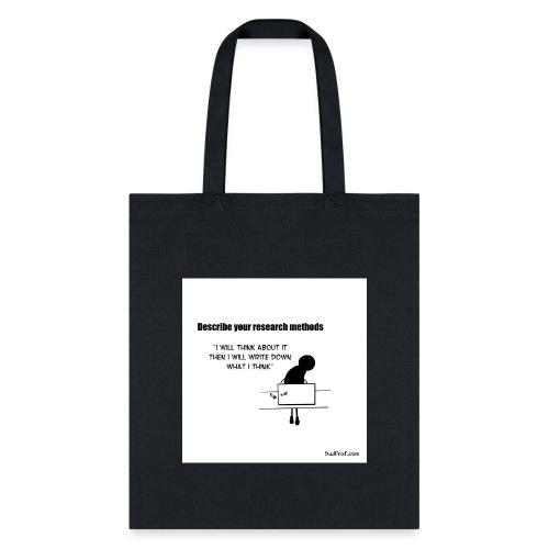 Research Methods - Tote Bag