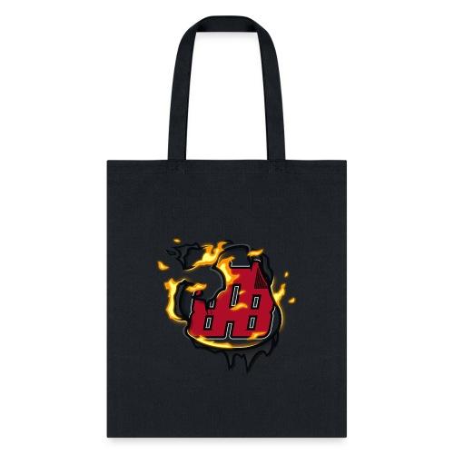 BAB Logo on FIRE! - Tote Bag