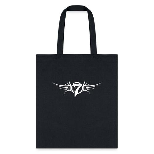 MayheM-7 Tattoo Logo White - Tote Bag