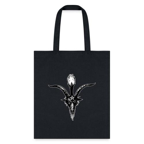 Eliphas Levi's Baphomet Head - Tote Bag