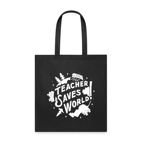 TSW! Retro World Design: Special White Edition - Tote Bag