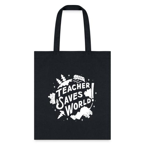 TSW! Retro World Design: Special White Edition - Tote Bag