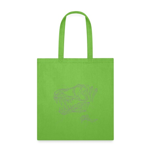 Jurassic Polygons by Beanie Draws - Tote Bag