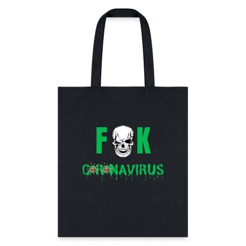 Fuck Coronavirus (skull version) - Tote Bag