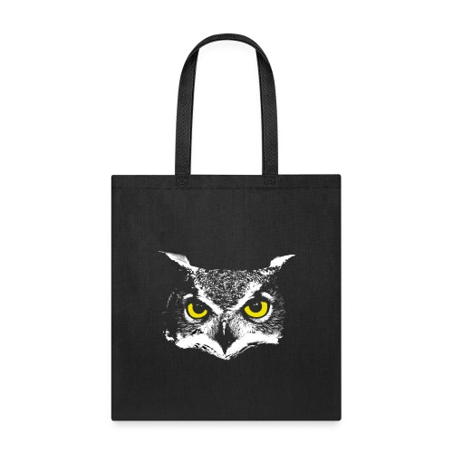 Owl Head - Tote Bag