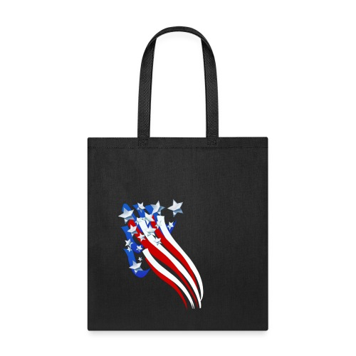 Sweeping Old Glory - Tote Bag