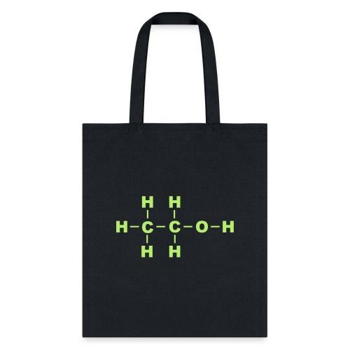 Alcohol Molecule - Tote Bag