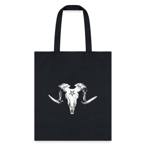 Goat Skull - Tote Bag