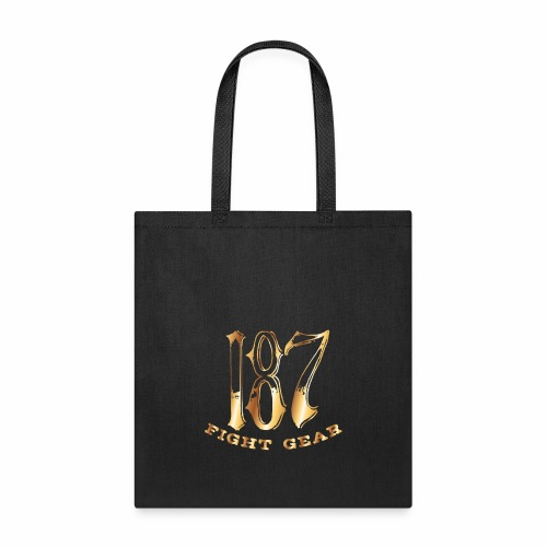 187 Fight Gear Gold Logo Street Wear - Tote Bag