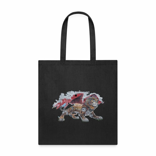 Lion cut 2000pxl gif - Tote Bag