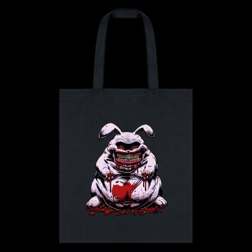 Cute Creepy Bunny Buddy - Tote Bag