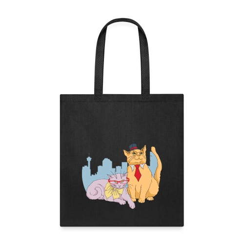 Calgary Cats by Marlene P - Tote Bag