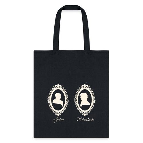 John Sherlock Portraits - Tote Bag