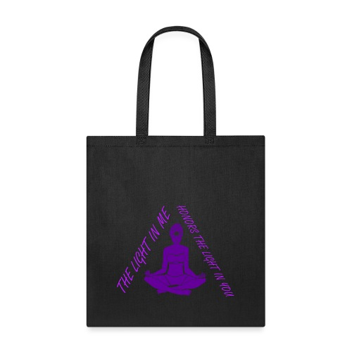 honor the light - Tote Bag