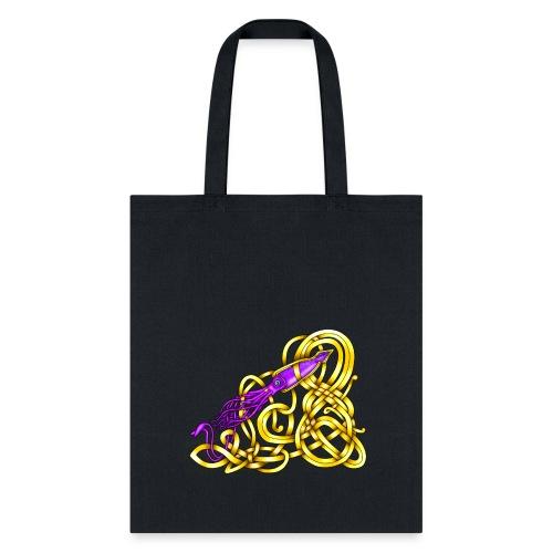 Celtic Squid - Tote Bag