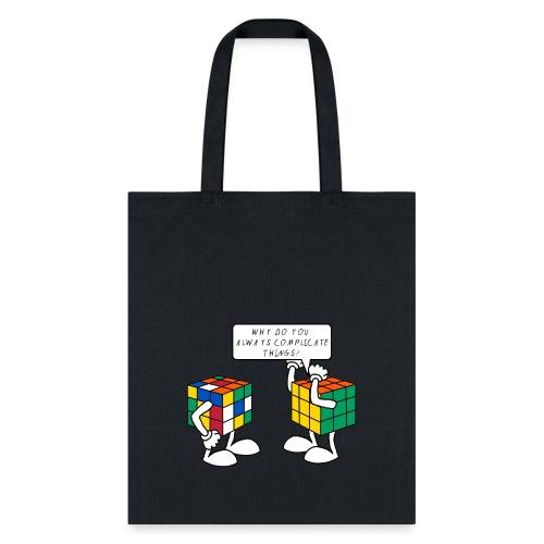 Rubik's Cube Complicate Things - Tote Bag