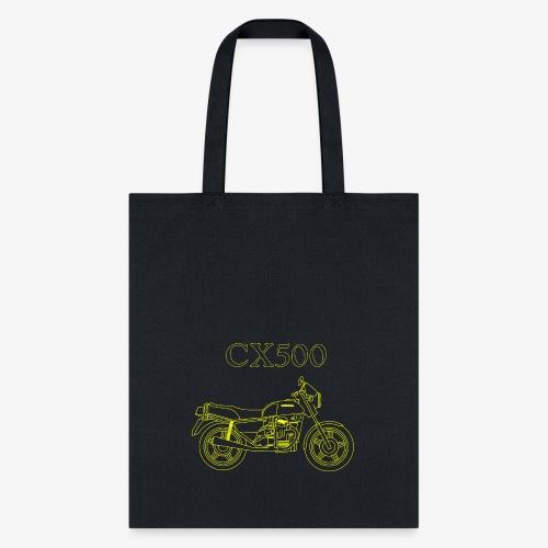 CX500 line drawing - Tote Bag