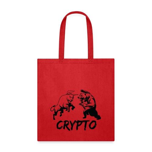 CryptoBattle Black - Tote Bag