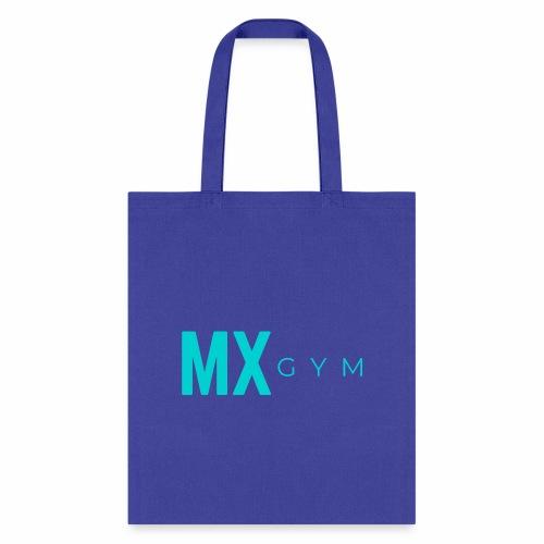 MX Gym Minimal Long Teal - Tote Bag