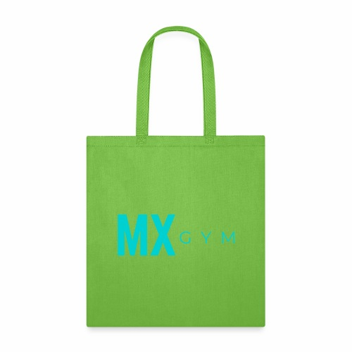 MX Gym Minimal Long Teal - Tote Bag